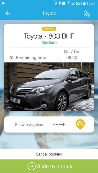 Auto jagamine car sharing tallinn