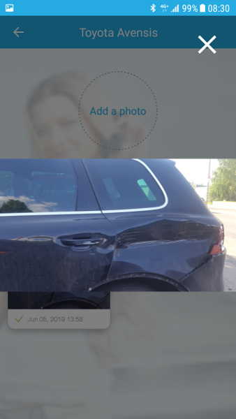 Auto kahjustuste fikseerimine